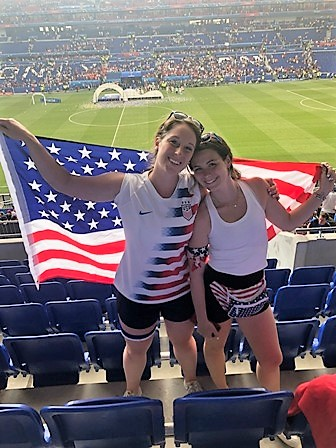 Andrulis family takes in women's World Cup