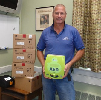 Morris uses state funding to purchase AED devices