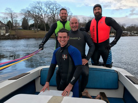 Fearless skiers take on Thanksgiving challenge