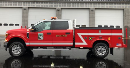 Bantam Fire Company's new truck enters service