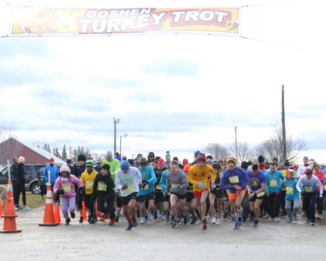 Goshen Turkey Trot another Thanksgiving classic