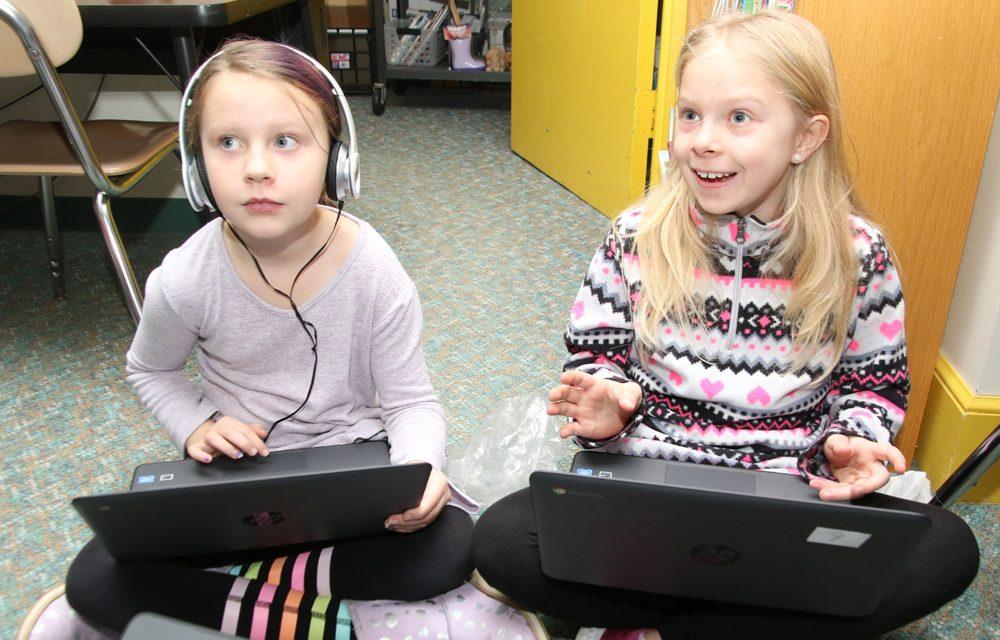 Center School students break the code