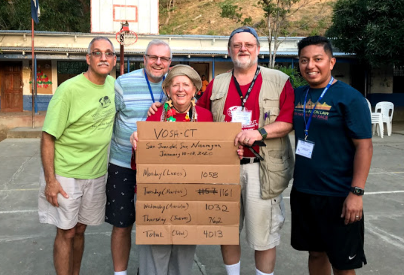 Blondins lead volunteer eye-care effort