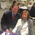 Sen. Blumenthal attends League event