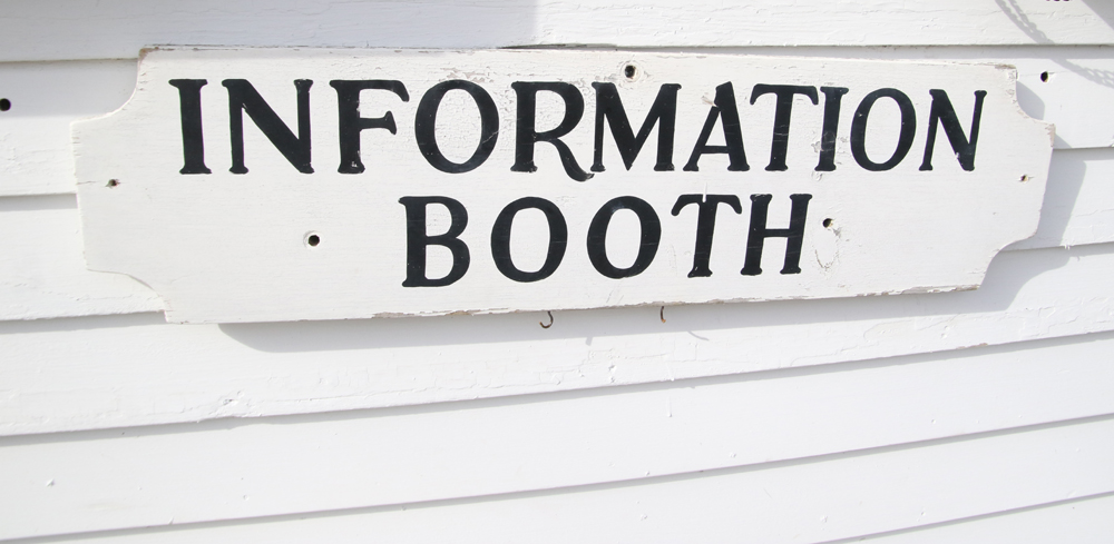 Volunteers sought for information booth
