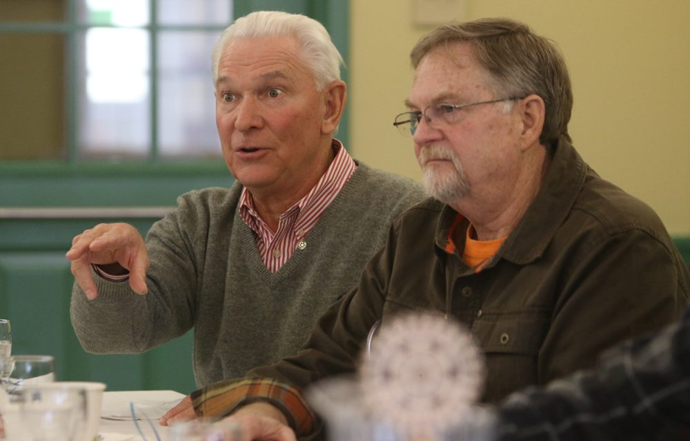 Former first selectman speaks up at Rotary