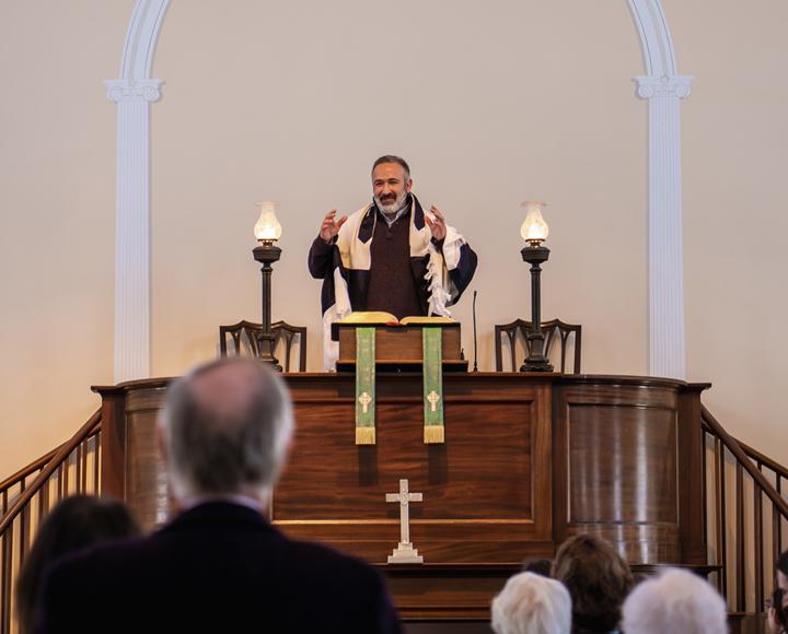 First Congregational Church has new pastor