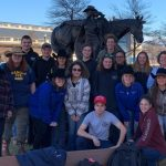 Wamogo students visit Texas stock show