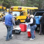 Schools and bus drivers back in business