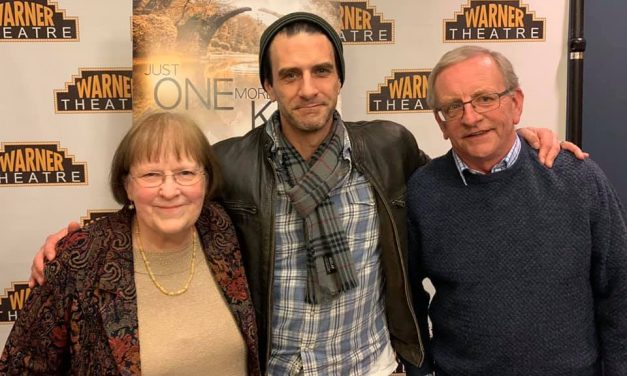 Zeller attends premiere of new film
