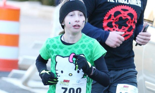 Lily Markavich first in her age group