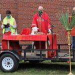 Mass at St. Anthony of Padua moves outdoors
