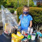4-H Club girls assist FISH Inc. shelter