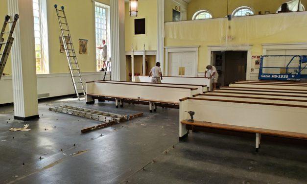 Maintenance job at St. Anthony of Padua