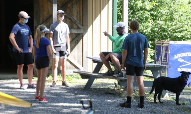 Rowing club returns to Bantam Lake