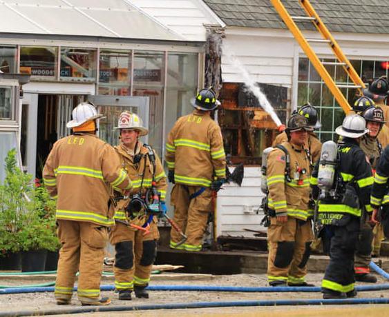Litchfield Hills Nursery saved from fire