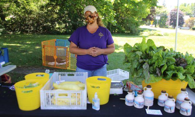 Goshen farmers market hits summer stride