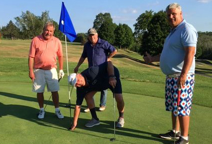 Morosky cards hole-in-one at Stonybrook