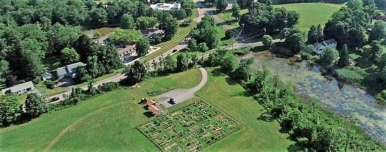 Litchfield Community Garden blossoming