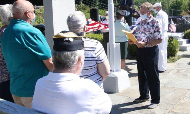 Post 44 honors a World War II veteran
