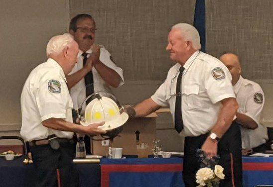 Bantam Fire Company honors Chuck Goslee