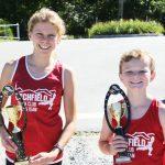 Track club runners excel in race series