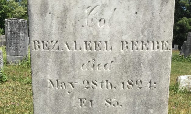 Historic gravestone gets a makeover