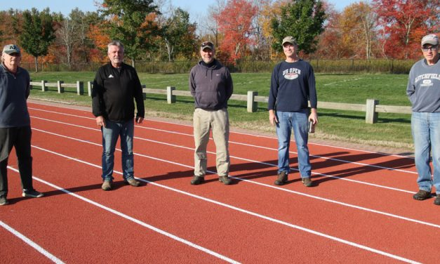 Plumb Hill track has new rubber surface