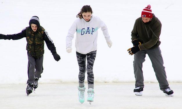 Family skate celebrates Valentine's Day