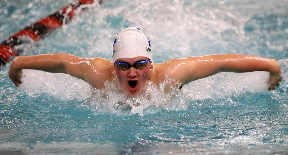 Litchfield swimmers second in BL meet