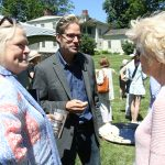 At last, Garden club meets again in person