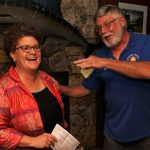 First Selectman Raap a guest of Rotary
