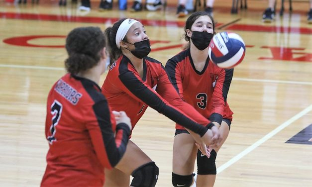 Volleyball takes hold as new Wamogo sport