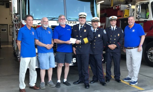 Rotary Club donates to fire departments