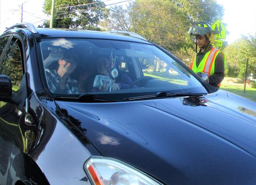 Morris firefighters raise $ at boot drive