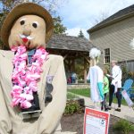 Scarecrows in the Meadow exhibit opens